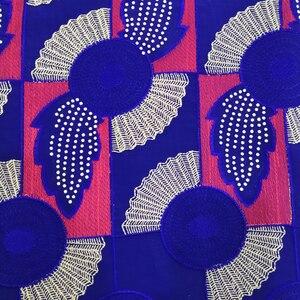 Image 2 - Tecido de renda seco tecido de renda para vestidos de casamento tecido de voile suíço de algodão