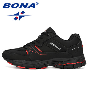 Image 4 - BONA 2019 חדש מעצבי פרה פיצול ריצת בריכת ספורט גברים סניקרס נעלי ספורט אימון הנעלה איש Comfortabe