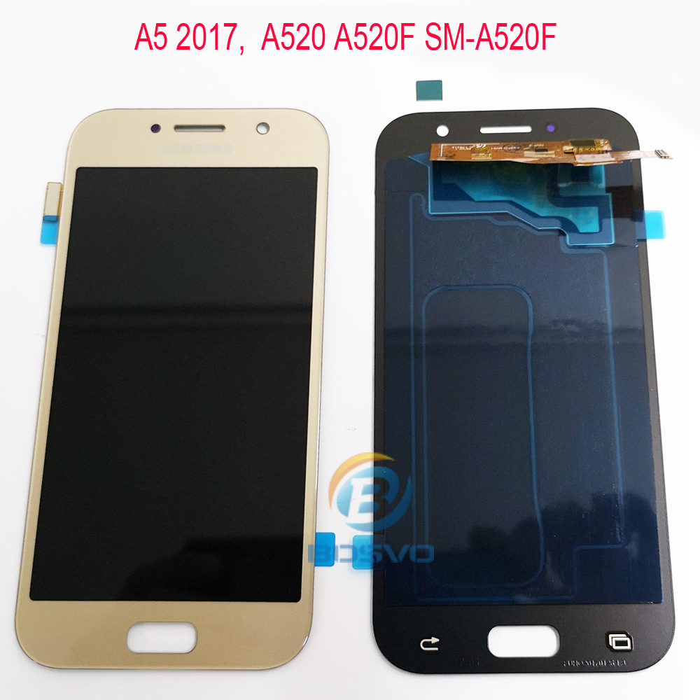 for <font><b>Samsung</b></font> <font><b>A5</b></font> 2017 <font><b>A520</b></font> LCD Screen display with touch Digitizer assembly image