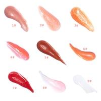 Moisturizing Gloss Plumping Lip Gloss Lip Plumper Makeup Glitter Nutritious Liquid Lipstick Cherry Mineral Oil Clear Lip Gloss 5