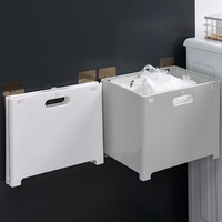 Wall Mounted Stoage Hampers Baskets Hanging Laundry Hamper Folding Laundry Basket with Handle for Finishing Clothes Towels Toy