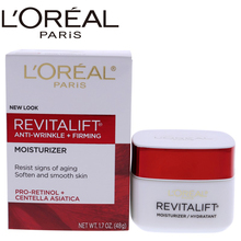 LOreal paris Revitalift Anti-Wrinkle & Firming Moisturizer For Face & Neck for Unisex - 1.7 oz Contour Cream