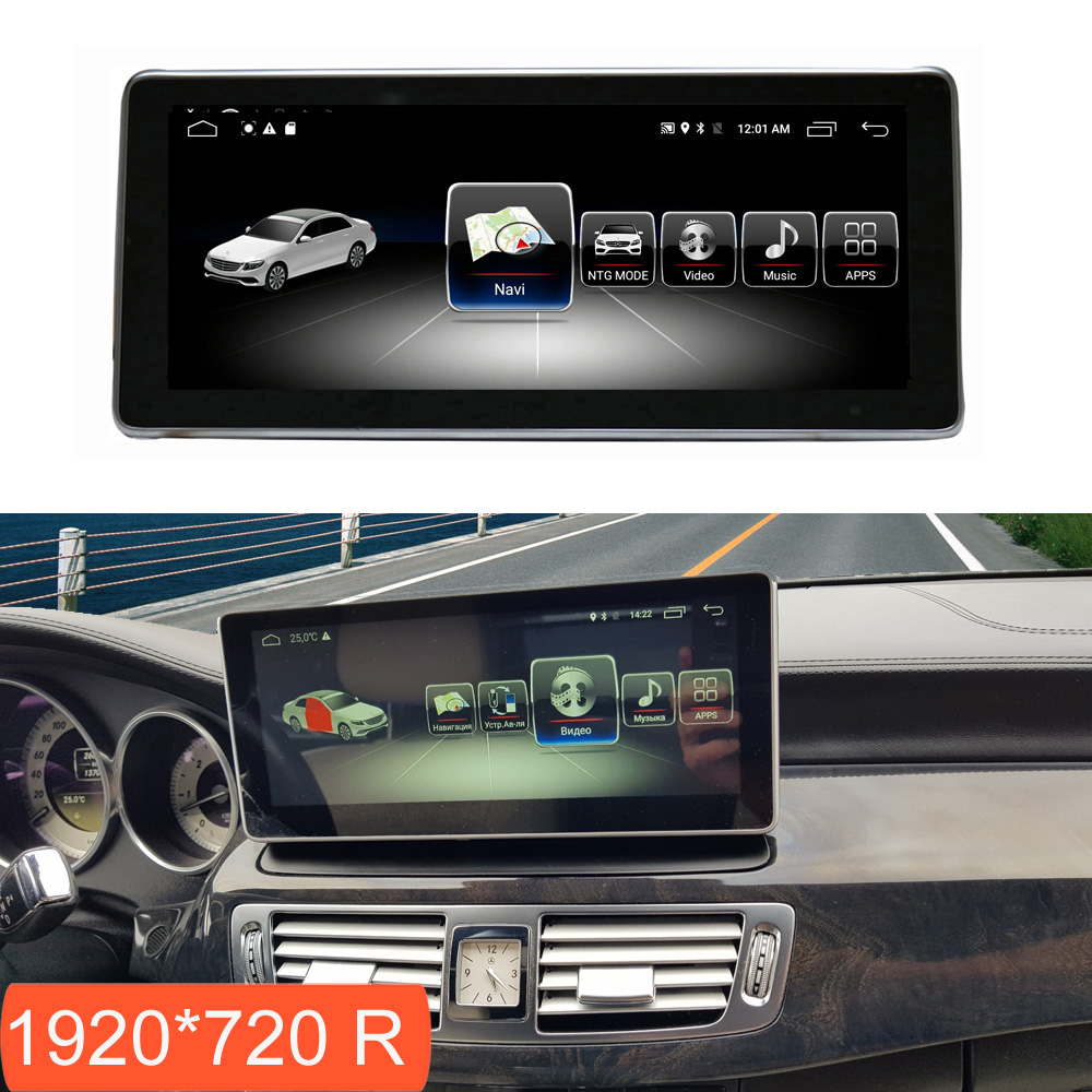 10.2 inch 4+64G Android Multimedia Touch Screen for Mercedes Benz CLS W218 Car Comand Display upgrade with Radio GPS Navigation|Car Monitors|   - title=