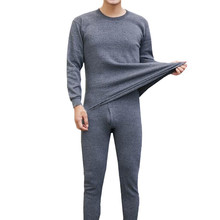 Soft Man Underwear Thermo Cotton Undershirts Men Long Johns