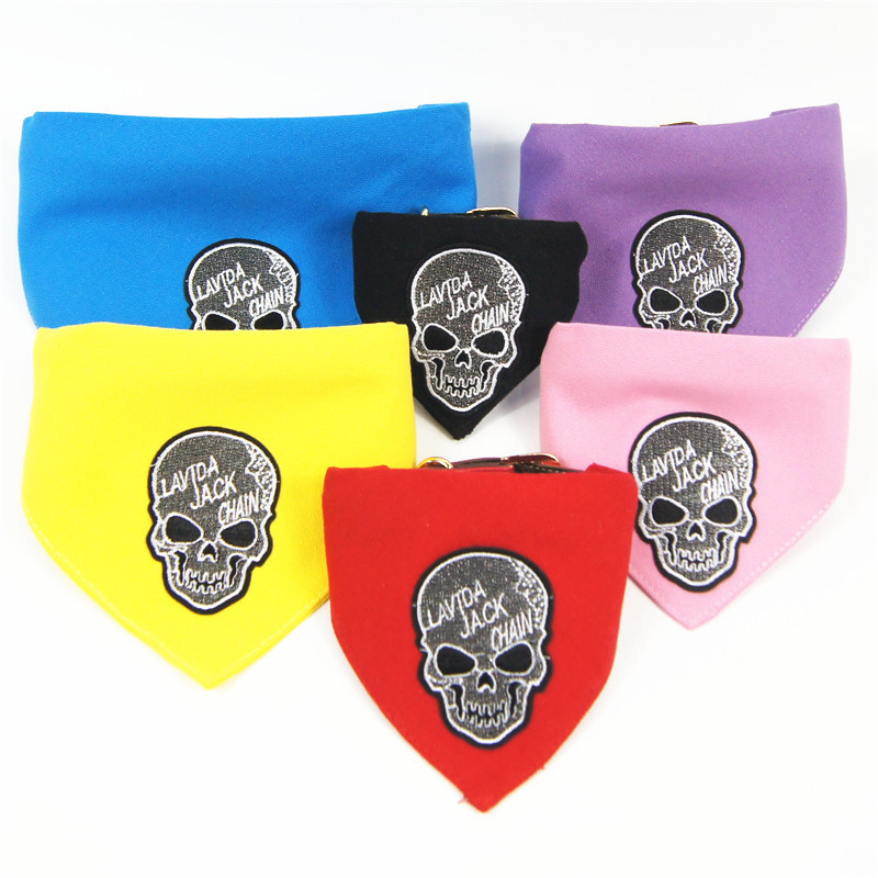 Halloween Skeleton Pet Collar Deconstructable Multi-Purpose Bibs Dogs And Cats Universal Pet Supplies