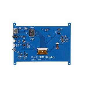 Image 5 - Mới 7 Inch 1024X600 USB HDMI Màn Hình LCD Hiển Thị Màn Hình Điện Dung Màn Hình Cảm Ứng Giá Đỡ Dành Cho Raspberry Pi Windows
