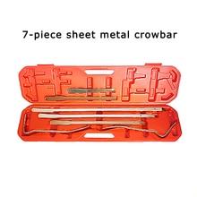 Professional Auto Tool Kit 7-13 Pieces Automotive Sheet Metal Repair Tools Crowbar narzedzia warsztatowe