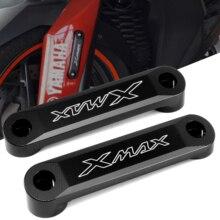 Yüksek dereceli Logo öğeleri ön aks bakır levha çamurluk dekoratif kapağı için Yamaha XMAX X MAX 125 250 300 400 XMAX 300 2017 2018
