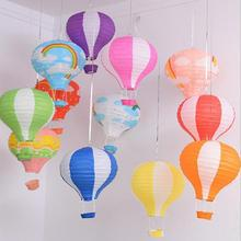 Воздушный шар, Висячие бумажные фонари 12 дюймов, украшение для свадьбы, дня рождения, вечеринки, торговый центр, бар, декор для потолка, шар, бумажные фонари