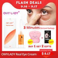 OMY LADY EyeCream Instant Remove Eyebags Firming Eye Anti Puffiness Dark Circles Under Eye Anti Wrinkle Anti Age Eye Care