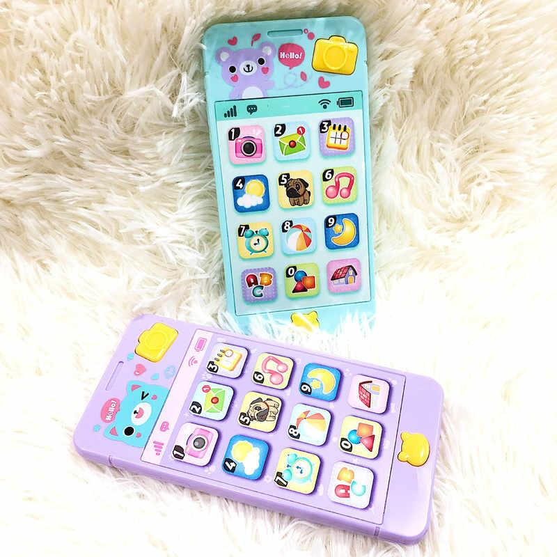 Детская погремушка кровать игрушка испанский музыкальный мобильный телефон для детей мультфильм коляска обучающая игрушка новорожденный 0-12 месяцев Младенец Малыш