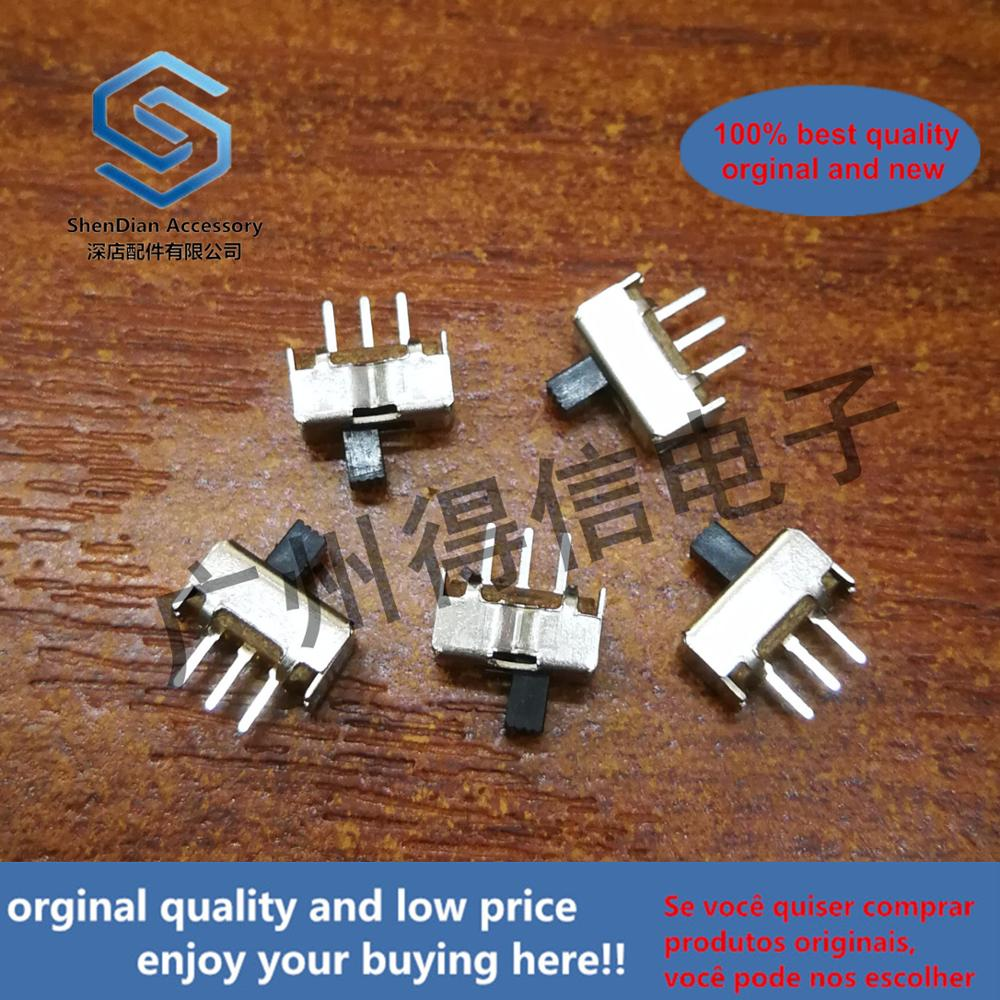 50pcs 100% Orginal New SS12D07G5 G BEN BEN 5MM On Both Sides Without Plug, New Two-speed Toggle Switch Real Photo