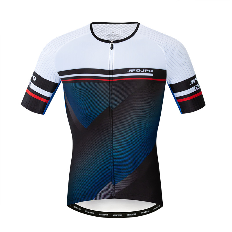 JPOJPO 2019 Team Cycling Jersey Men's Short Sleeve Bike Jersey Top Summer Pro Racing Sport Bicycle Jersey Shirt Maillot Ciclismo