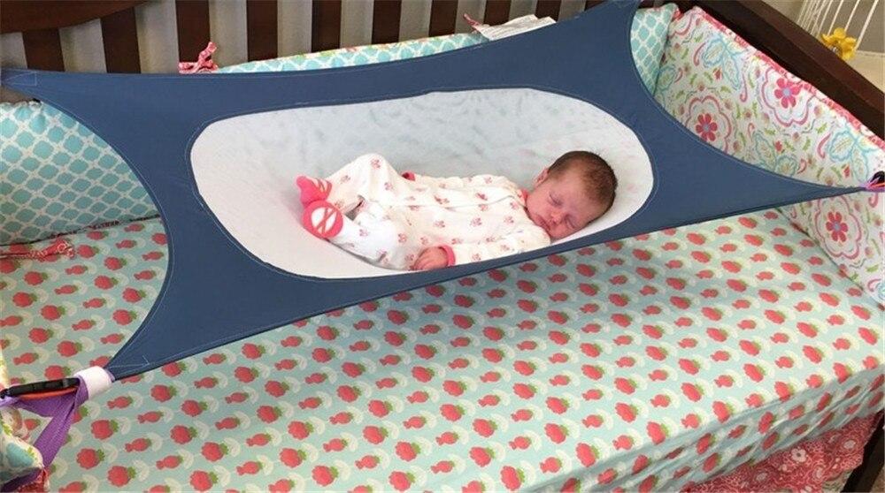 bebê rede segura destacável berço do bebê