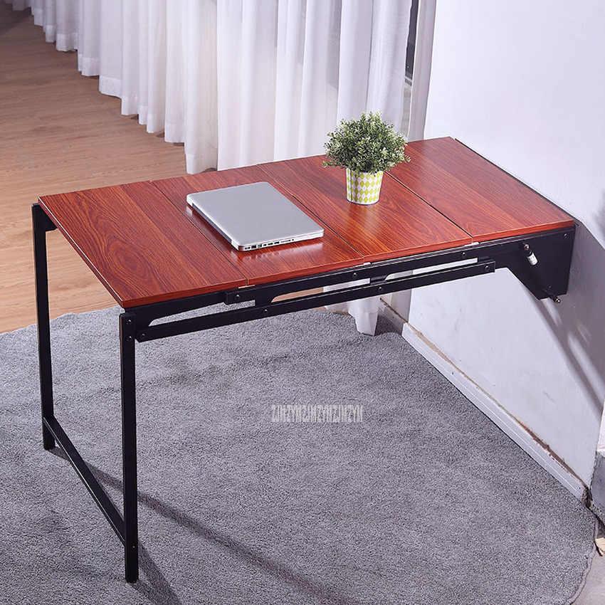 table murale multifonctionnelle table a manger pliee comme etagere de rangement murale balcon salon pliable bureau etagere murale
