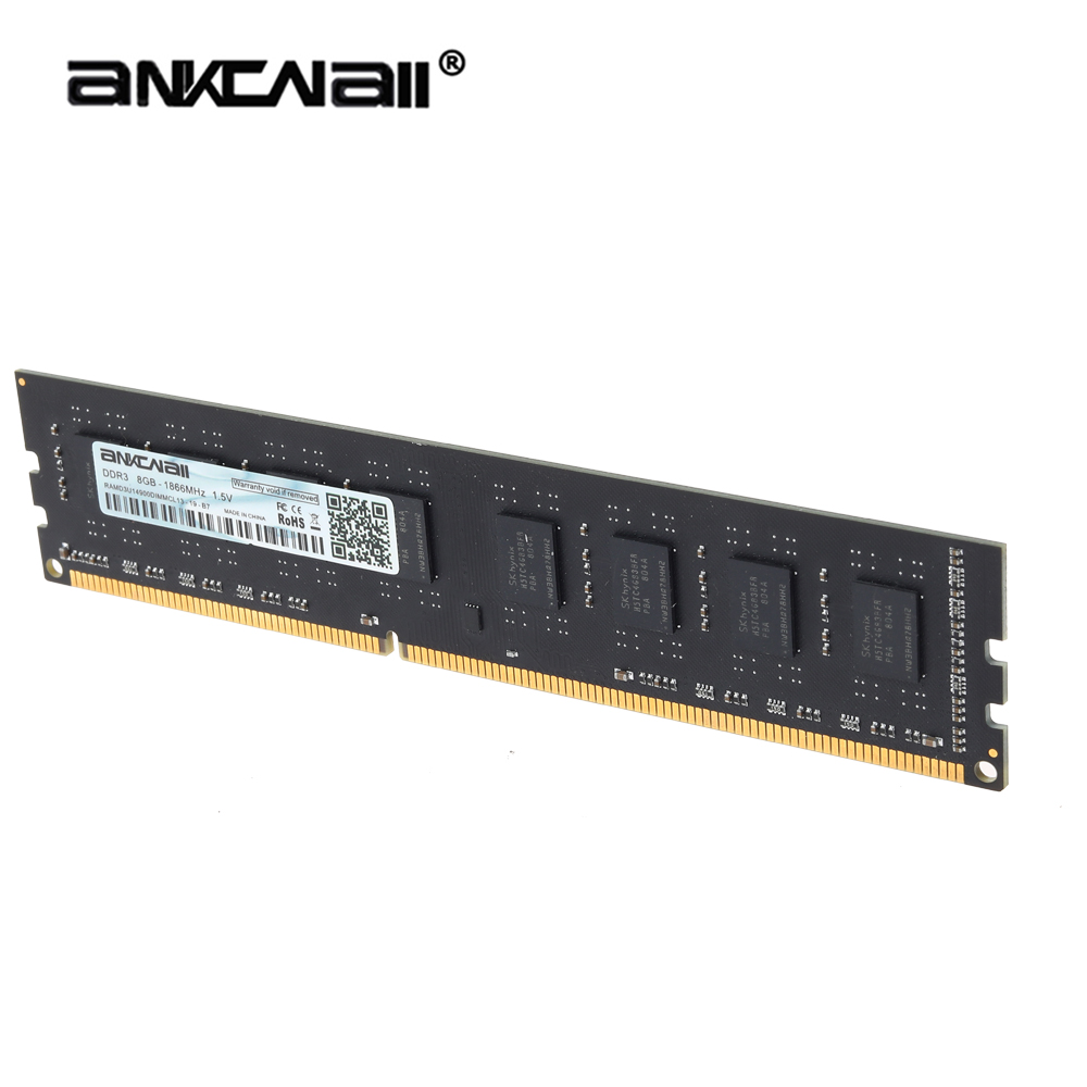ANKOWALL DDR3 Desktop RAM with 2GB/4GB Capacity and 1866MHz/1600Mhz Memory Speed 7