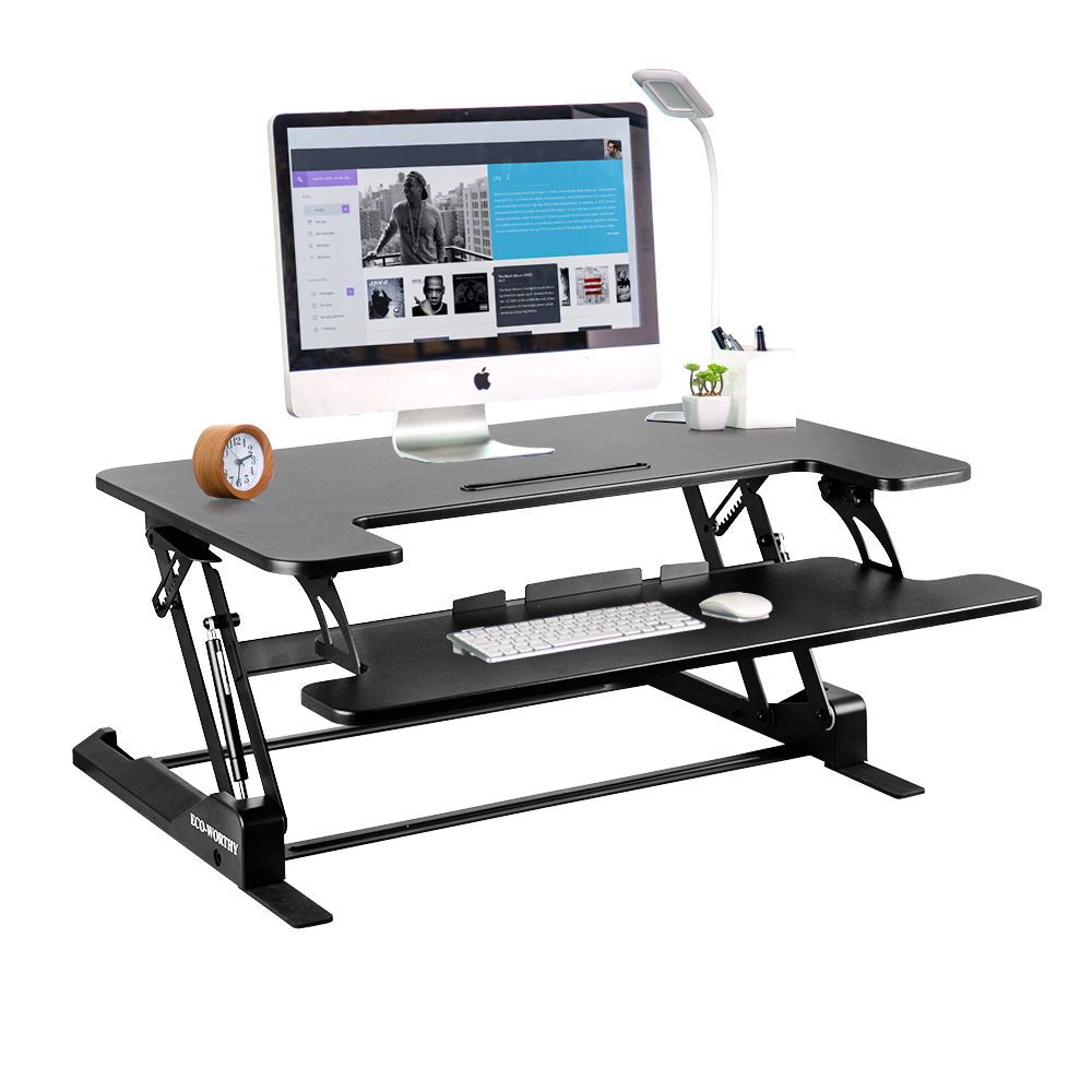 Stand Up Office Desk Writing Desk Computer Desk Sit-Stand Desk Adjustable Standing Desk  36