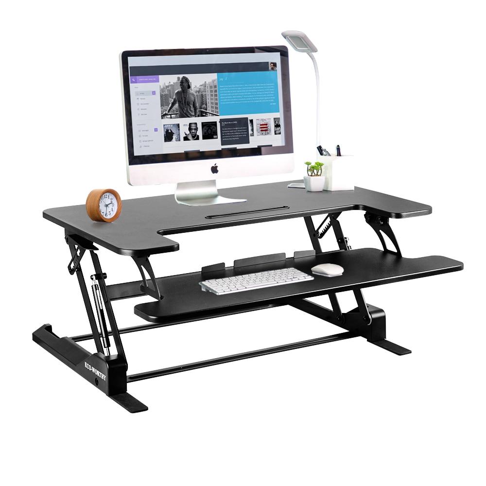Stand Up Office Desk Writing Desk Computer Desk Sit-Stand Desk Adjustable Standing Desk  36