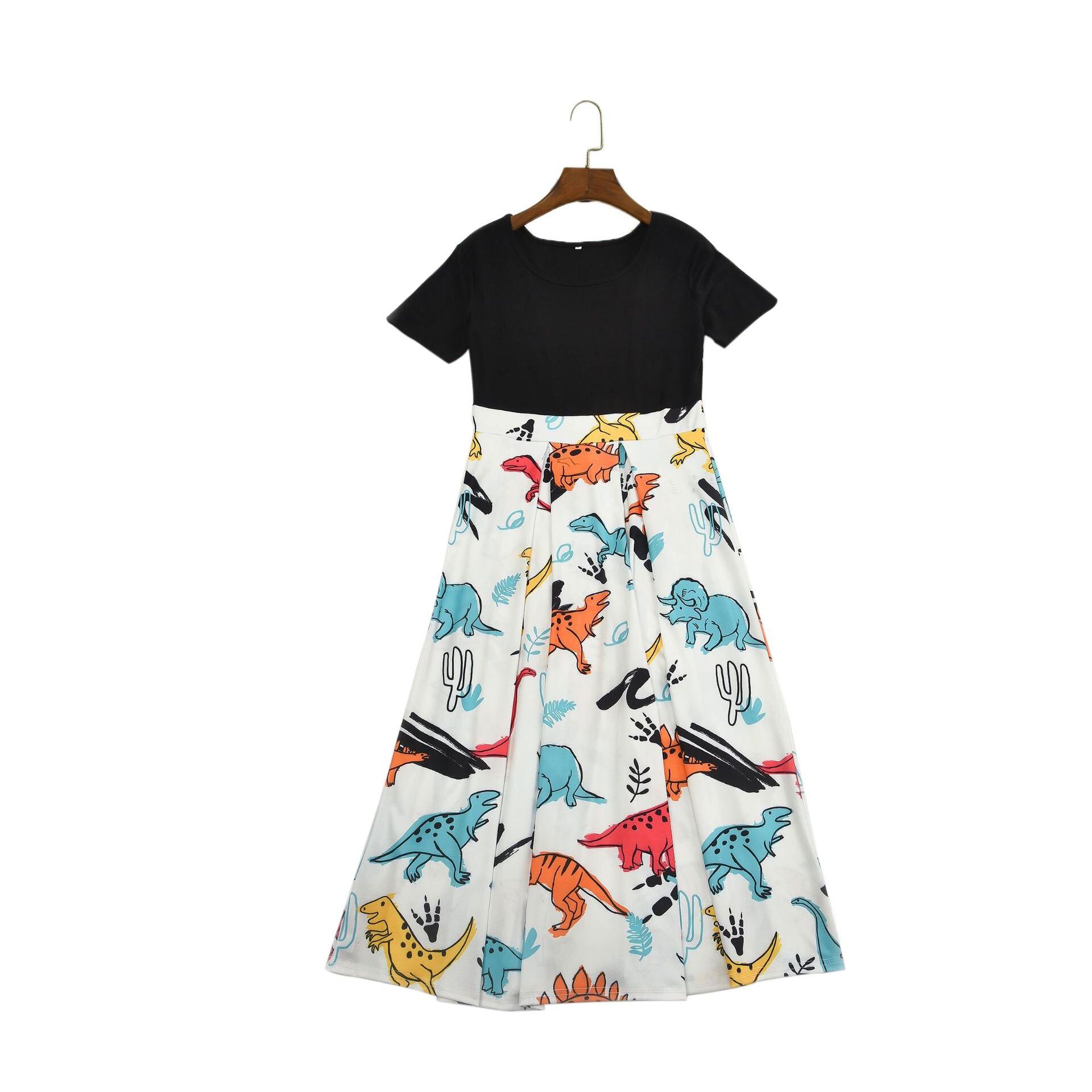 Top SaleDress Outfits-Set Matching Parent-Child Daughter Boho Midi Midi