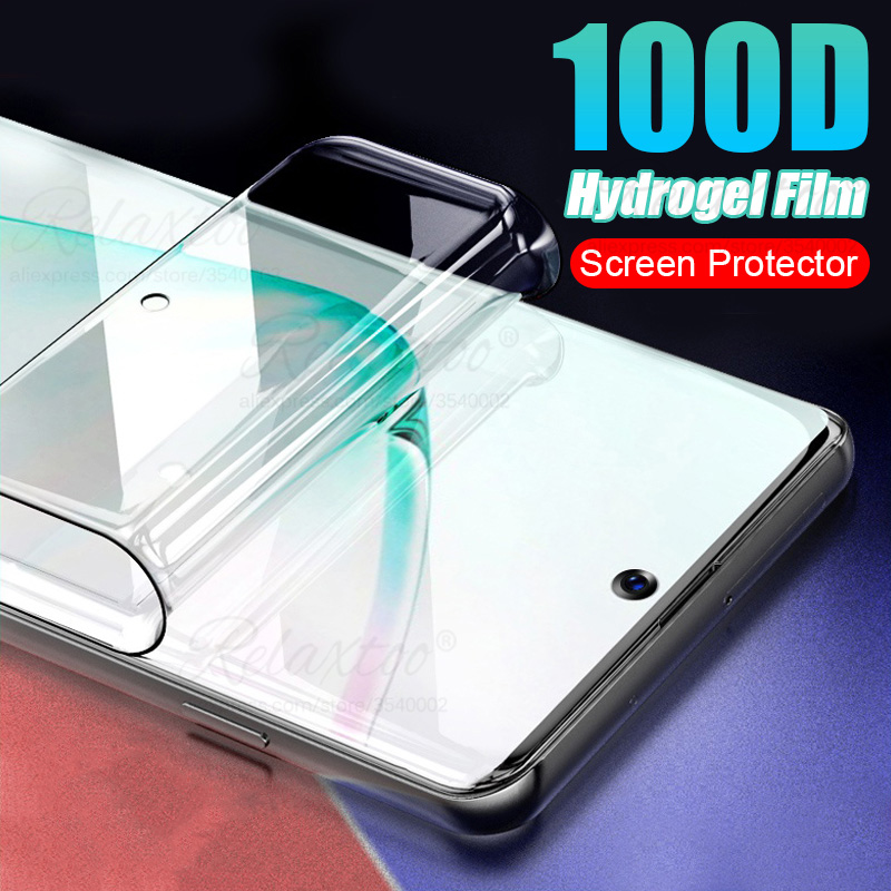 Hydrogel Film tempered glass for Samsung Galaxy S10 S20 Plus Ultra soft Screen protector glass on sumsung s10+ s20+ s 20 10 plus image