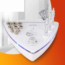 Cosmetic instrument for diamond micro-crystal face exfoliating, cleaning, moistening and tender skin