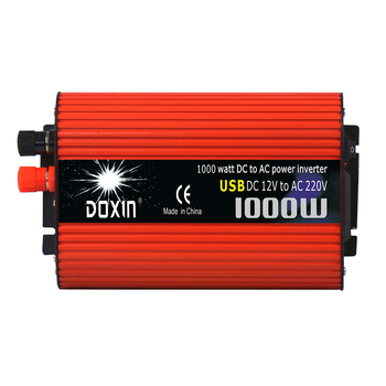 Premium 1000W Car Dual USB Power Inverter 12V To 220V Converter Adapter Chargers