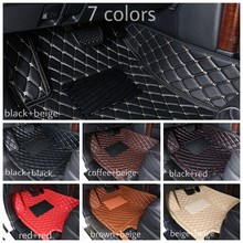 Car Floor Mats For Toyota Land Cruiser 100 200 Prado 120 150 RAV4 Camry Corolla Highlander Alphard Prius Yaris Fortuner Car Mats