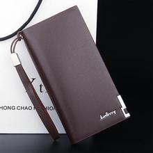 Famous  Brand Men clutch Bags Fashion Male Leather Purse Men's Clutch Wallets Large Capacity Mens Handy Bags Man Bags Wallets цена