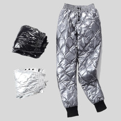 Женские брюки-карандаш с подкладкой, зимние брюки с двусторонней подкладкой, облегающие брюки с эластичной резинкой на талии, брюки из 100% ут...