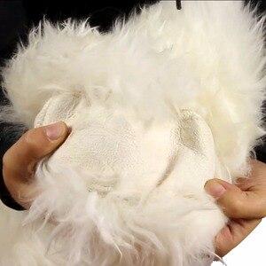 """Image 5 - Kawosen Winter Warm Australische Wol Stuurhoes Voor 14.96 """"X 14.96"""" Stelen Wheel In Diameter 38 Cm WSWC01"""