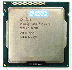 Intel Core i7-3770 i7 3770 3,4 ГГц четырехъядерный процессор 8M 77W LGA 1155 настольный процессор