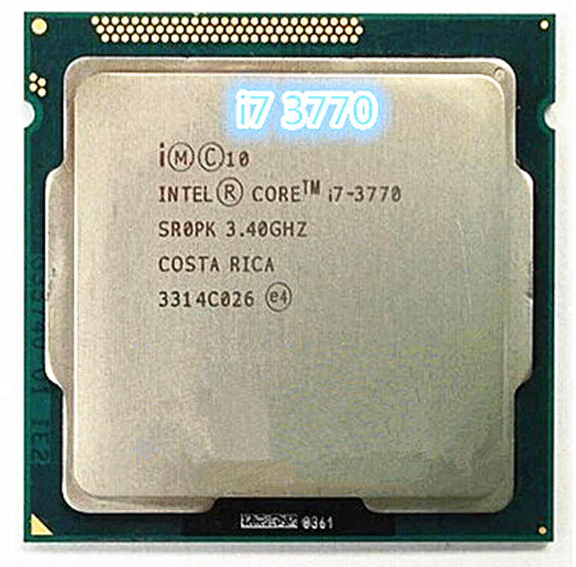 Intel Core I7-3770 I7 3770 3.4 GHz Quad-Core CPU Processor 8M 77W LGA 1155 Desktop Processor