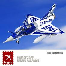 HOGAN Mirage 2000 французские воздушные силы 1/200 литая модель самолета