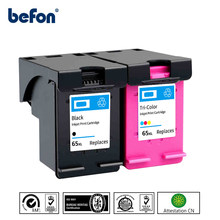 Befon 65XL Совместимый картридж для hp 65 XL hp 65 для hp Envy 5010 5020 5030 5032 5034 5052 5055 2622 2624 2652 2655 принтер