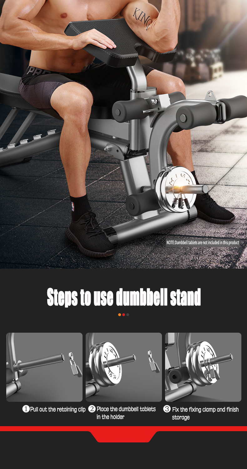 Dumbbell Bench Home Multifunctional Sit-up Fitness Equipment