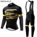 Phtxolue Зимняя Теплая Флисовая велосипедная одежда для мужчин велосипедная одежда велосипед MTB Джерси велосипедные наборы Велоспорт Джерси