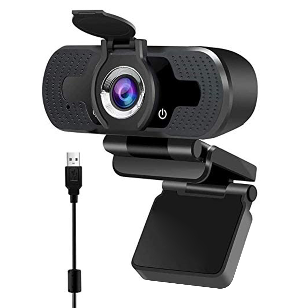 1080P Full HD Webcam with Built-in Microphone USB Driver Free Auto Focus Web Camera for Video Conference