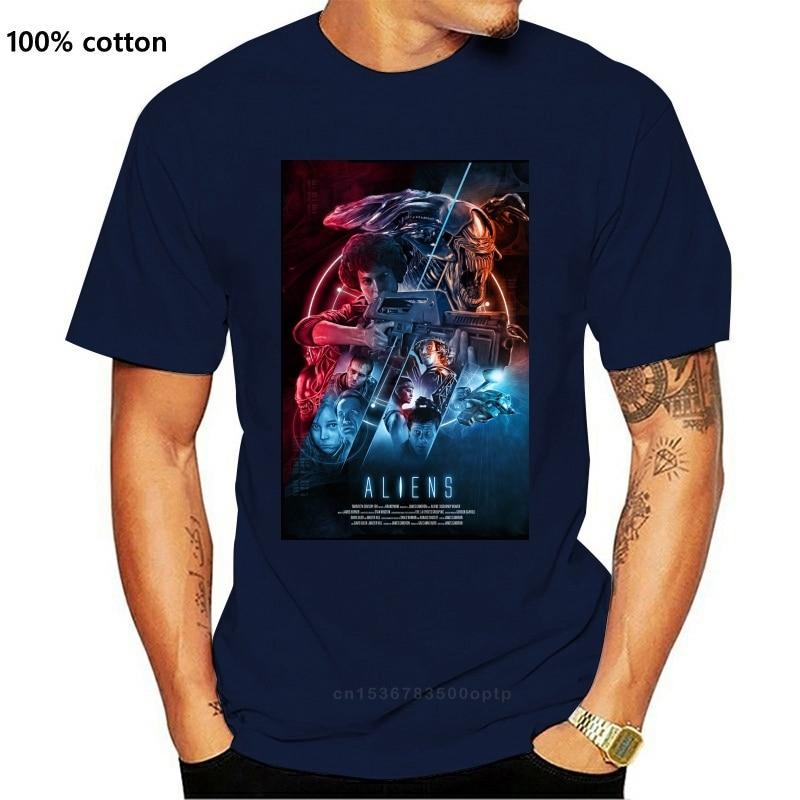 Футболка с пришельцами фильм белый 80S футболка Рипли чужой космическая планета ретро мужские футболки размера плюс футболка