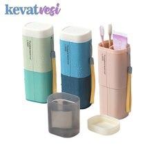 Портативная зубная щетка для путешествий хранение чехол коробка