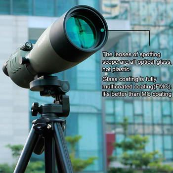 SVBONY Spotting Scope 25-75x70 Zoom Telescope SV17 BAK4 Prism Powerful Monocular Hunting Spyglass Waterproof Long Range Optics 3