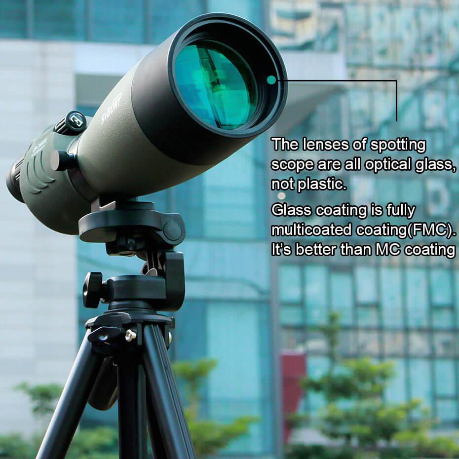 Svbone 25-75x70mm longue-vue SV17 BAK4 étanche droite 180 De Zoom télescope pour l'observation des oiseaux chasse F9326G - 3