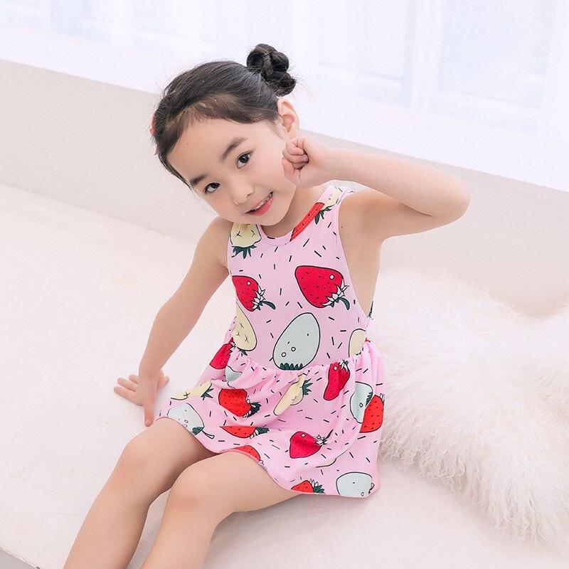 New Style KID'S Swimwear Girls Cute Strawberry Graffiti Baby Girls Children One-piece CHILDREN'S Swimsuit Xh547
