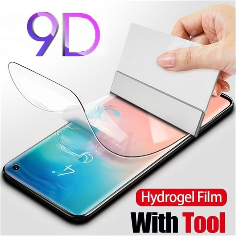 9D Clear Soft Hydrogel Protective Screen Film For Samsung J5 Pro J6 J7 Pro J730 A3 A5 A6 PLUE A7 A8 PLUS A9 Star 2016 2017 2018