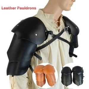 Arnés corporal para el pecho en forma de X de cuero PU Steampunk Medieval para hombre Armors renacimiento Vintage accesorios para fiesta disfraz Cosplay