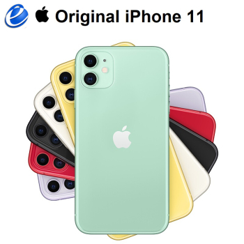 "Original Apple iPhone 11 6.1"" Liquid Retina Display Dual Camera A13 Bionic Chip 4G LTE IOS Smartphone"