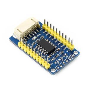 Image 4 - 5pcs Waveshare MCP23017 IO Expansion Board 6pin I2C Interface Expands 16 I/O Pins for Raspberry Pi/Micro:bit/Arduino/STM32