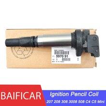 Фирменная оригинальная катушка карандаша зажигания 597091 597064 для Peugeot 207 208 308 3008 Citroen C4 C5 1,6 THP VTI BMW Mini Cooper R58