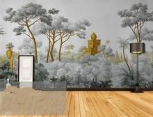 цена Custom Wallpapers Large Mural Painting Hand painted European Medieval Western Painting Backdrop Decorative Paintings онлайн в 2017 году