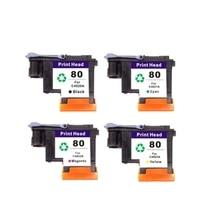 цена на Vilaxh C4820A C4821A C4822A C4823A for HP80 printhead For HP Designjet 1000 1050c 1055 Printer Ink Cartridge