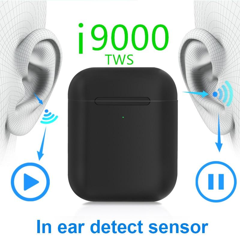 Détection intra-auriculaire originale i9000 TWS 1536u 1:1 Air2 Pop up PK H1chip i200 i500 i2000 i5000 écouteur sans fil Bluetooth écouteur